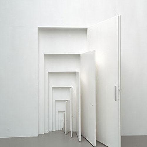 """Monika Sosnowska, """"Doors"""" (2003)."""