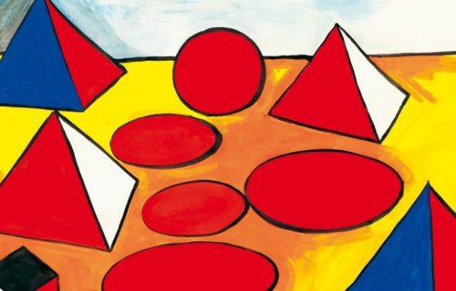 Alexander Calder - Pyramids (1975)