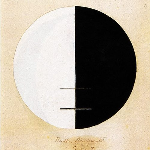 Hilda af Klint - The Buddha's Standpoint In Earthly Life, No. 3 (1920)