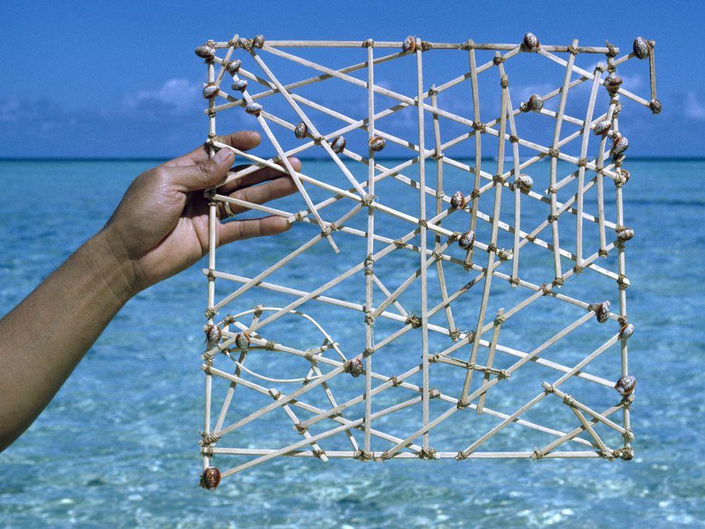 Melanesian stick chart